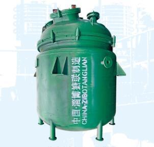 宁夏搪玻璃电加热反应釜