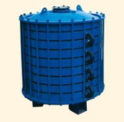 宁夏搪玻璃碟片式冷凝器