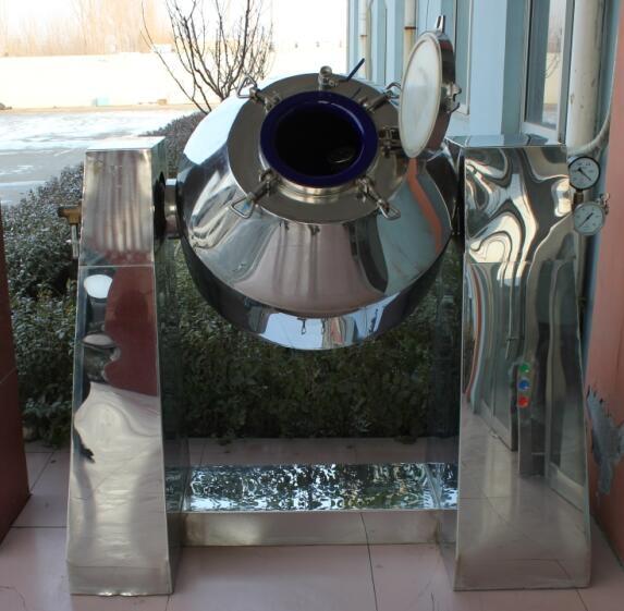 宁夏搪玻璃回转真空干燥机